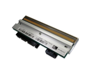Image shows an example of a Zebra replacement printhead for Zebra printers